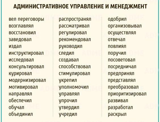 Глаголы №1